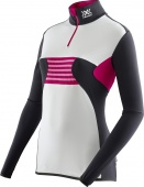 X-BIONIC SKI LADY RACCOON OW SHIRT LG SL ZIP UP